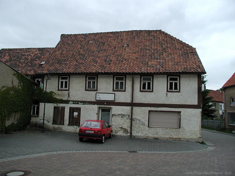 Denkmalobjekt (Wohnhaus) im Harz