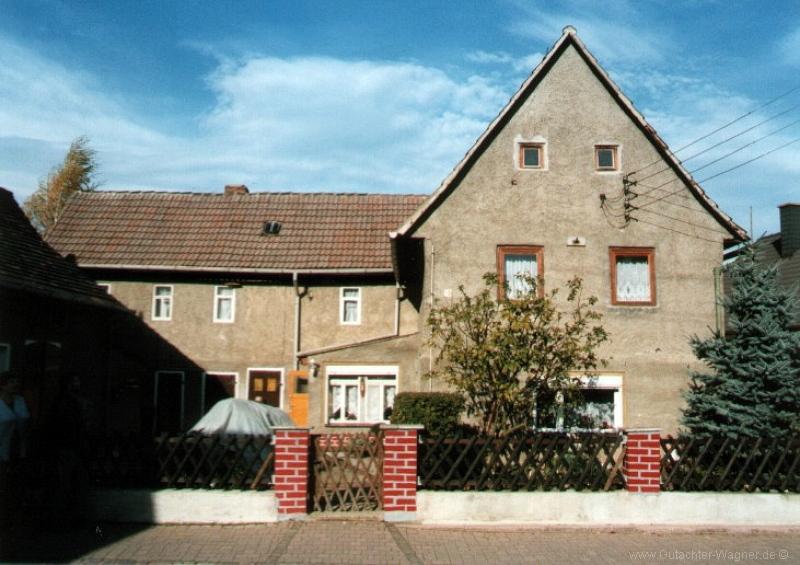 Wertermittlung Wohnhaus im Muldentalkreis
