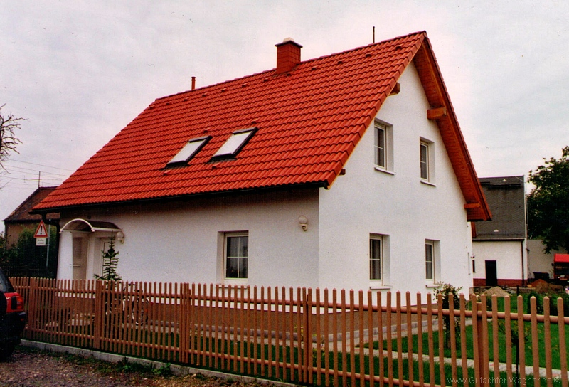 Verkehrswertermittlung Einfamilienhaus in Leipzig-Holzhausen