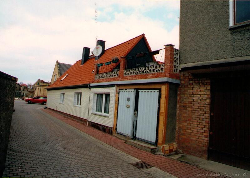 Gutachten über ein Einfamilienwohnhaus im Salzlandkreis