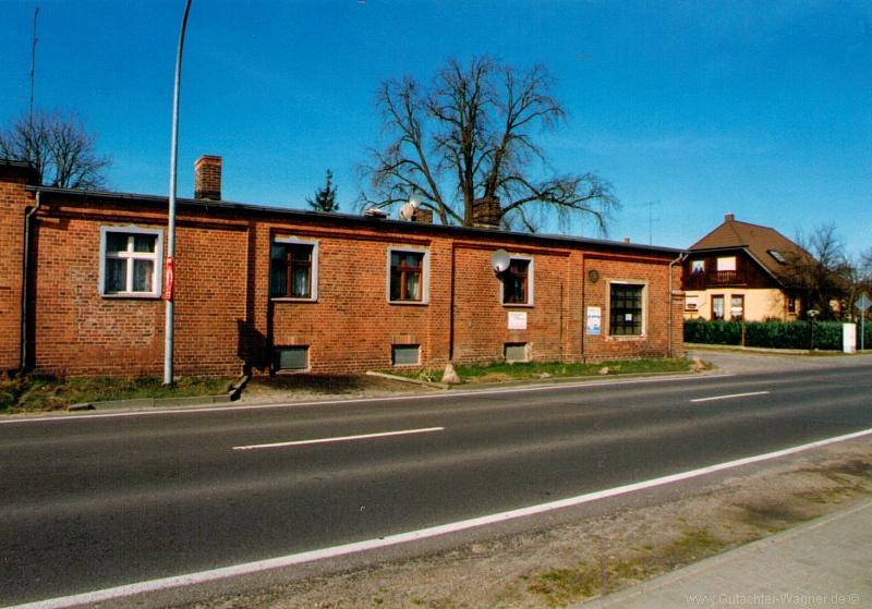 Verkehrswertgutachten eines Wohnhauses in Brandenburg