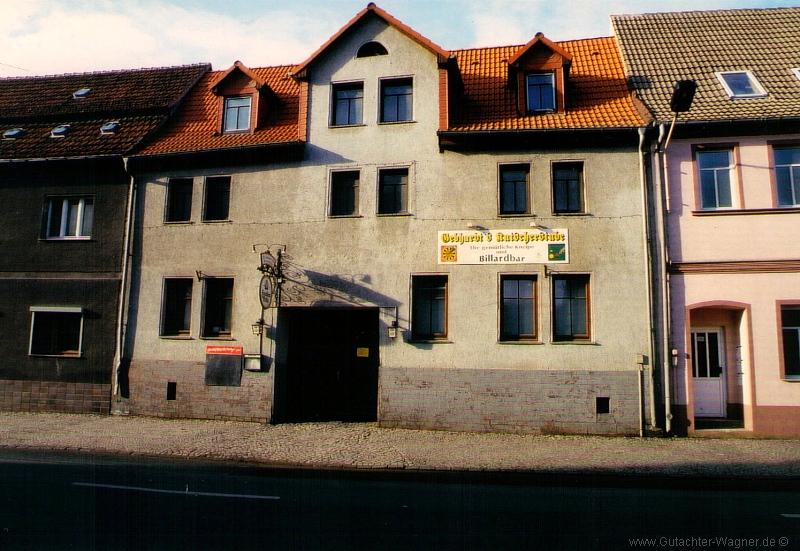 Wertgutachten - Gastronomieobjekt in Sachsen-Anhalt