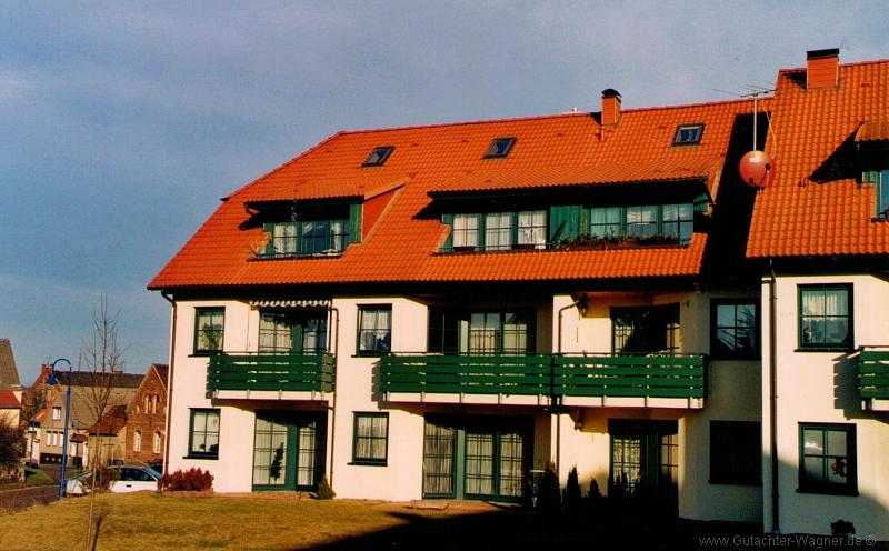 Wertgutachten: Eigentumswohnungen in einer modernen Wohnanlage