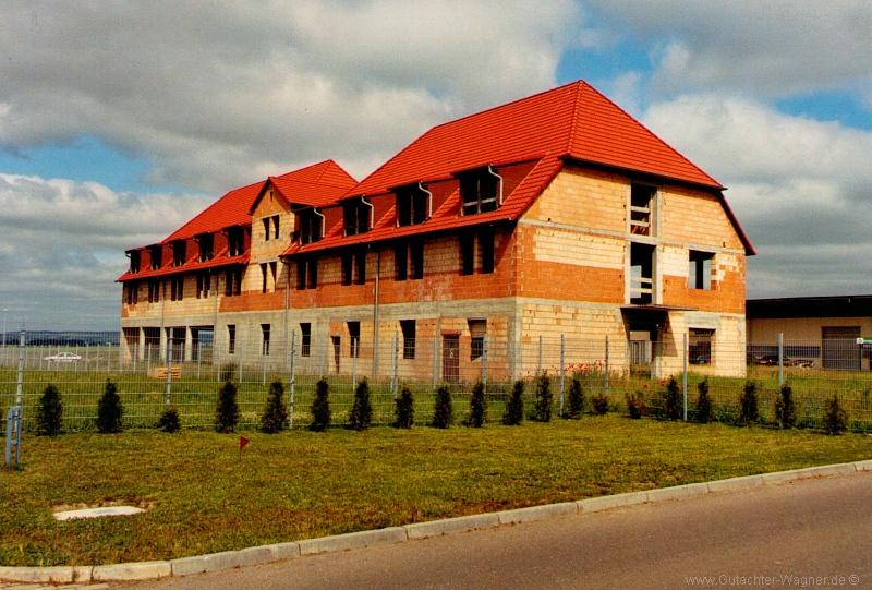 Verkehrswertgutachten - geplantes Hotel im Rohbau in Sachsen-Anhalt