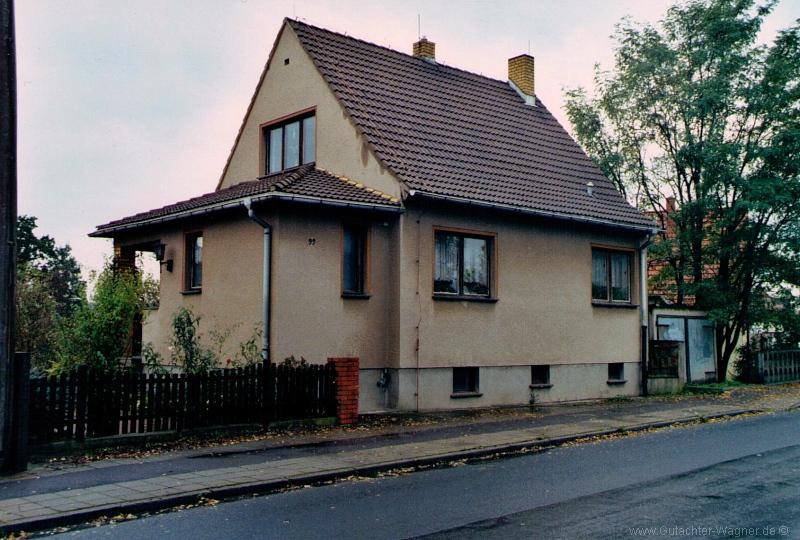 Wertermittlung eines Wohnhauses in Schkeuditz