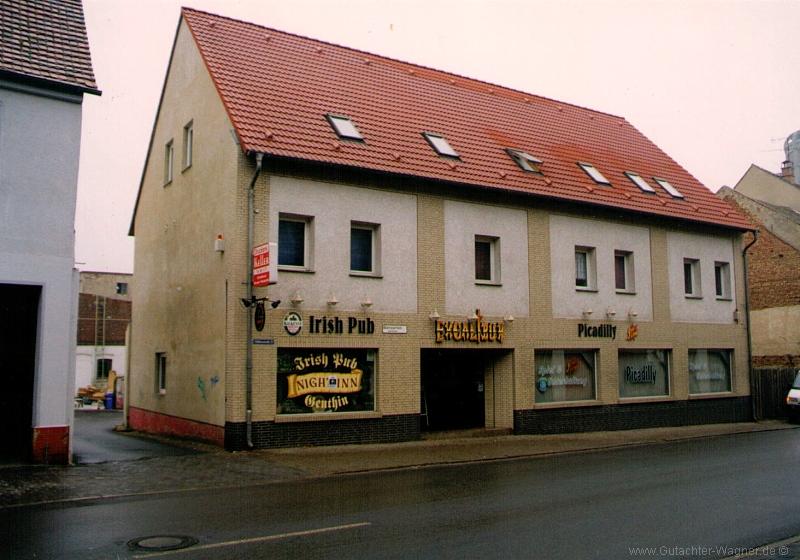 Verkehrswertgutachten - Wohnhaus mit Gastronomie in Sachsen-Anhalt