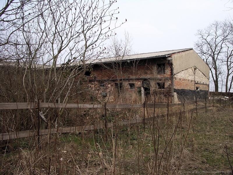 landwirtschaftliches Gebäude bei Borna