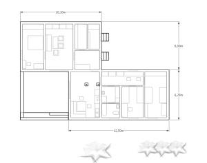 Grundriss Eigenheim KH-1 Keramikhaus