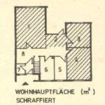 Wohnhauptfläche in der DDR - Begriffsdefinition
