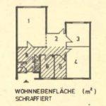 Wohnnebenfläche in der DDR - Begriffsdefinition